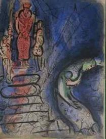 Marc Chagall, lithographie originale