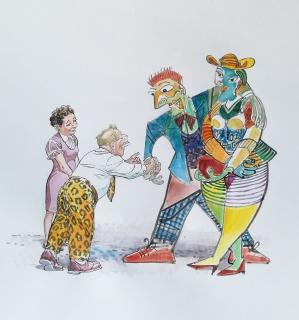 François Boucq, Picasso et Moucherot