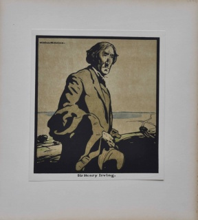 William NICHOLSON SIR HENRY IRVING